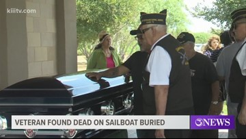 Strangers, fellow veterans attend funeral for U.S. Army vet found dead on sailboat
