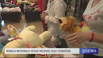 Order of the Eastern Star donates handmade quilts to Ronald McDonald House