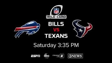 Buffalo Bills, Houston Texans Wild Card game to air on KIII-TV