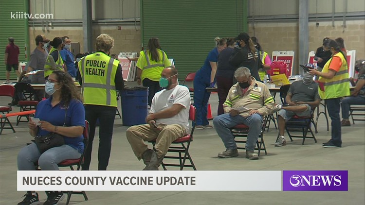 From one location to several: State of COVID-19 vaccines in Nueces County