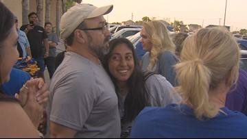 Javelinas' softball team welcomed home after historic run