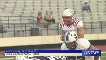 West tops East in 2019 CBCA All-Star Football Game - 3Sports