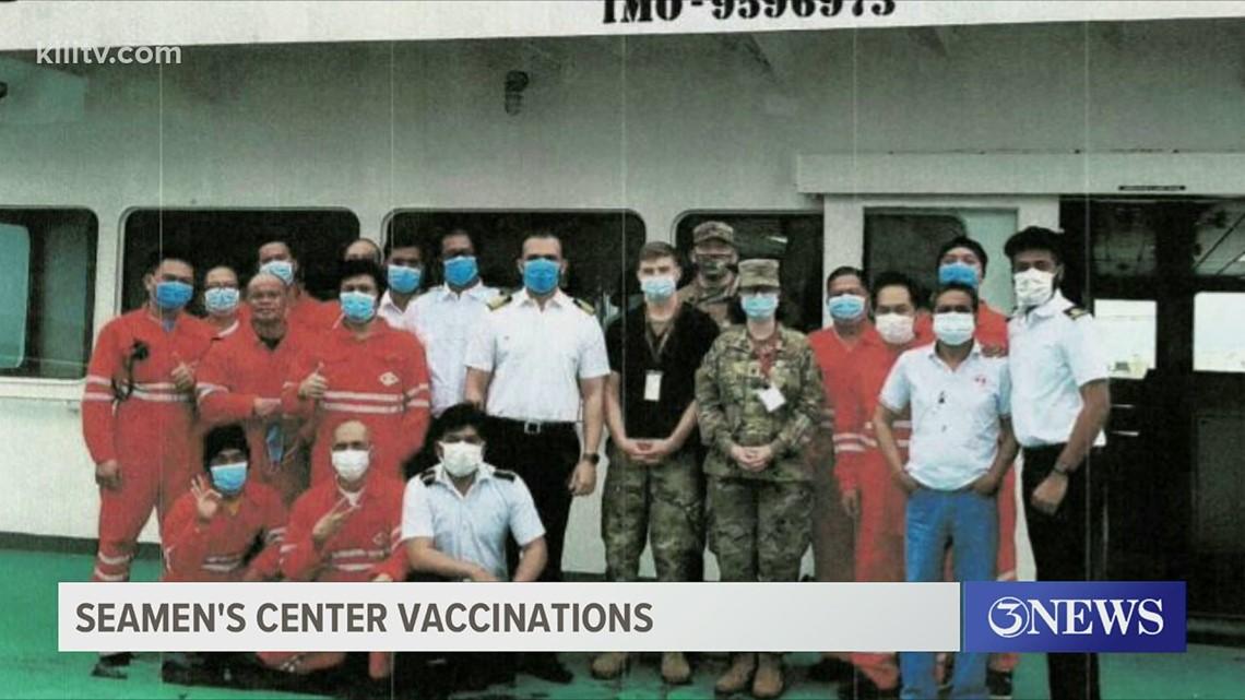 Local effort to vaccinate international seamen who pass through Port of Corpus Christi