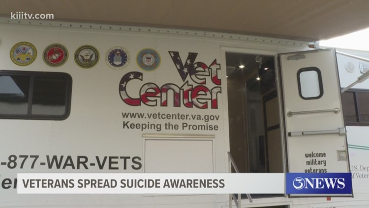 South Texas veterans share importance of suicide awareness
