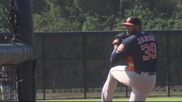 Astros/Hooks Spring Training Camp Report: Josh James