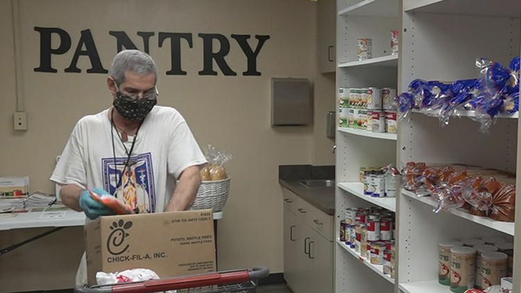 Choice Food Pantry reopens in Corpus Christi