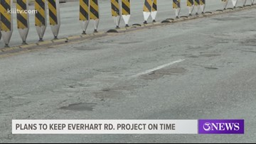 City discusses plans to make Everhart construction less of a hassle