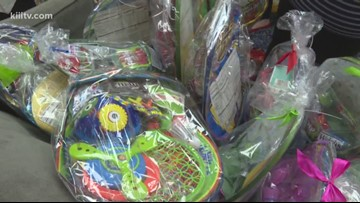 Operation Easter Lily distributes hundreds of Easter baskets to kids in need