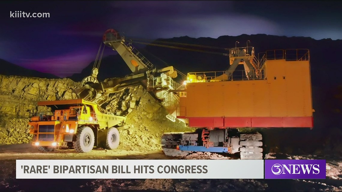 Rare Act: A new bipartisan bill before congress looking to give tax breaks to American mining companies