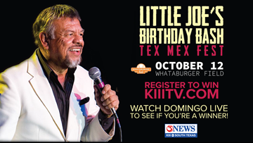 Register to win tickets to Little Joe's Birthday Bash!