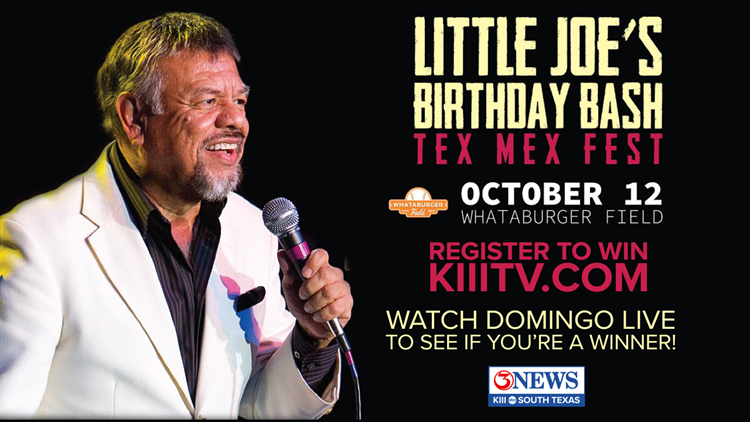 Register to win tickets to Little Joe's Birthday Bash!