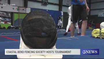 Coastal Bend Fencing Society hosts fencing tournament