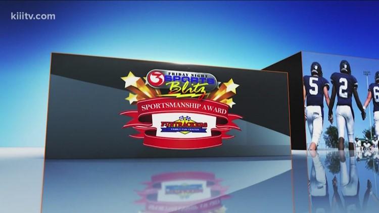 Sportsmanship Award: George West