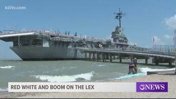 U S S  Lexington hosting Red, White and Boom event for