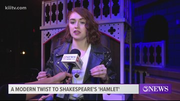 TAMUCC theatre students put modern spin on timeless tale Hamlet