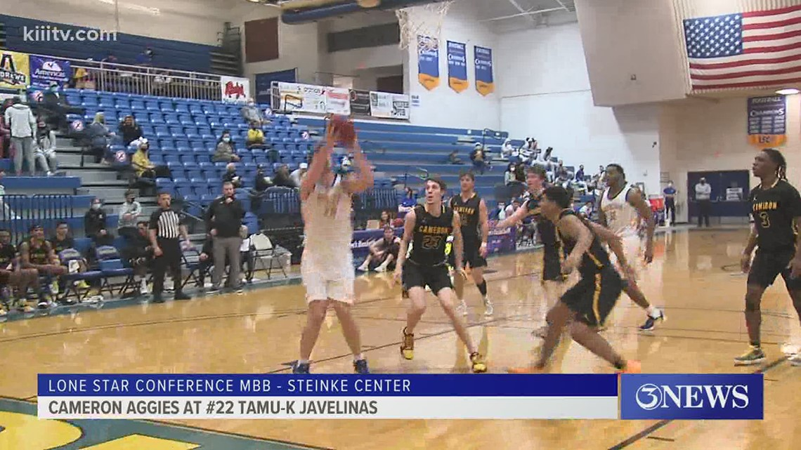 Javelinas men hammer Cameron to go to 10-1 - 3Sports