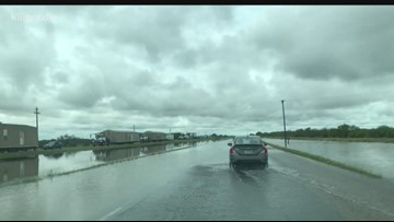 Highway 281 flooding brings struggles   kiiitv com