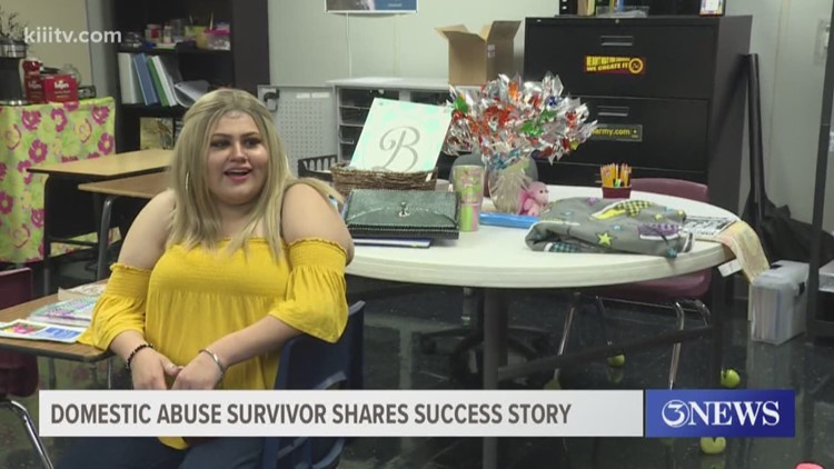 Domestic abuse survivor shares success story