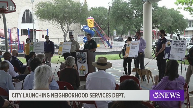City launches new department to resolve neighborhood issues in Corpus Christi