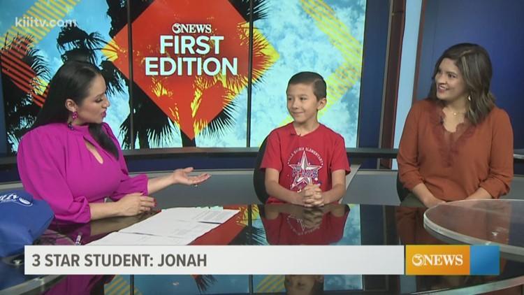 3Star Student: Jonah
