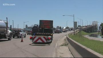 Harbor Bridge lane closures continue to cause traffic headaches