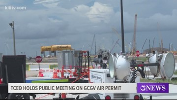 Public meeting held to discuss second air quality permit request for new Gregory plastics plant