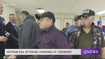 Congressman honors veterans in Alice and Kingsville