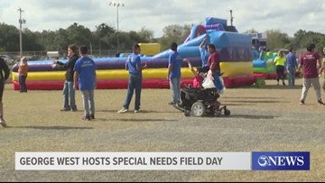 George West hosts special needs Field Day