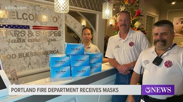 Portland Fire Department receives donation of face masks