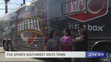 Fox Sports Southwest visits Corpus Christi