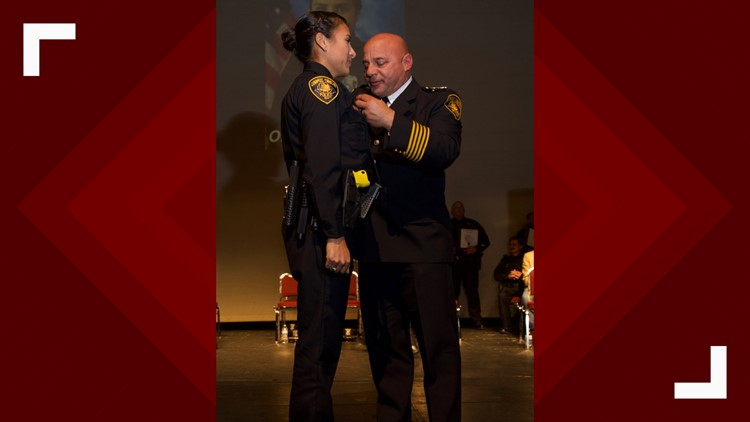 CCPD Officer Elise Tamez