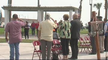 Veterans celebrated at Corpus Christi park