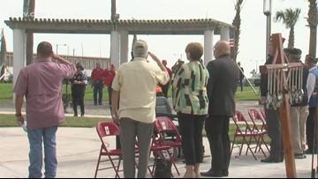 Veterans celebrated at Corpus Christi park