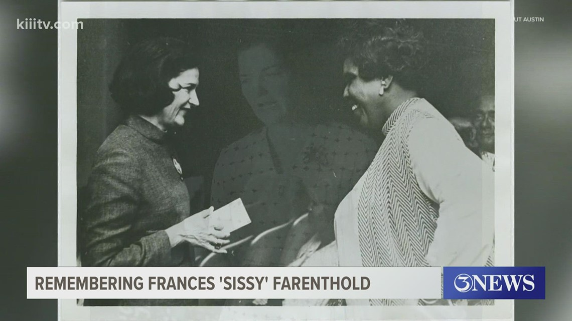 Texas champion of civil rights Frances 'Sissy' Farenthold dies after battle with Parkinson's disease