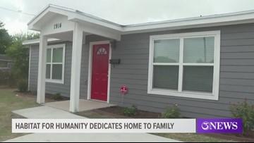 Habitat for Humanity dedicates home to Coastal Bend family