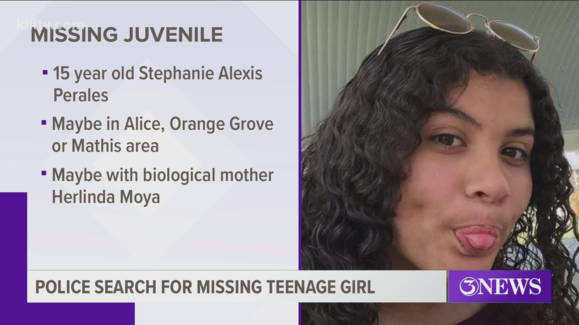 Stephanie Alexis Perales Missing From Corpus Christi Kiiitv Com