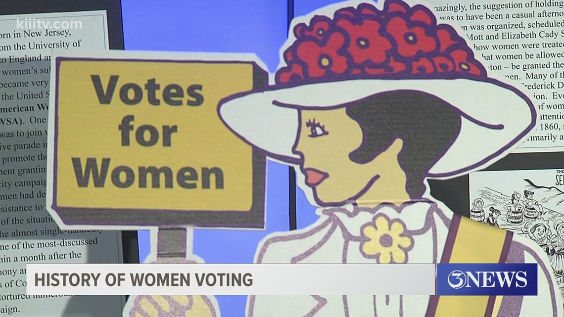 San Patricio County Republican Women group spreading awareness of women's voter history