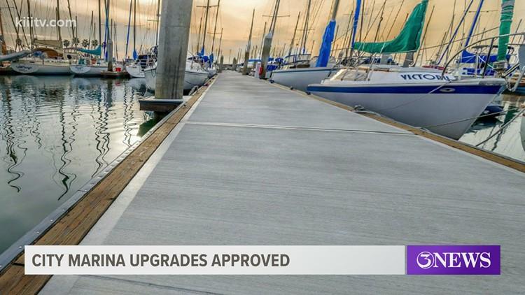 Upgrades are coming to the Corpus Christi Marina