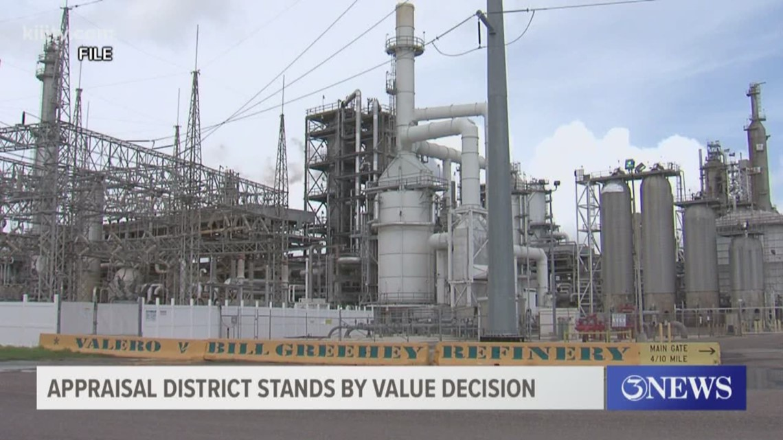 Nueces County Chief Tax Appraiser takes legal action against refinery
