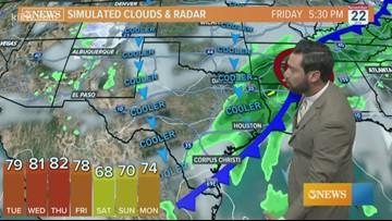 Alan Holt KIII South Texas Weather Forecast 11-19-2019