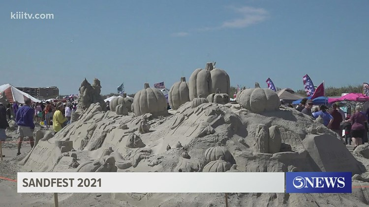 A sandy day to remember, wrapping up 2021 annual Sandfest