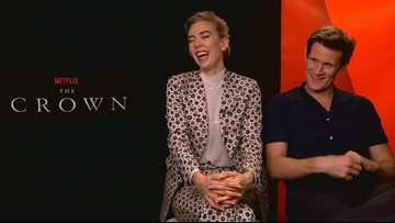 Stars of Netflix hit 'The Crown' preview season two