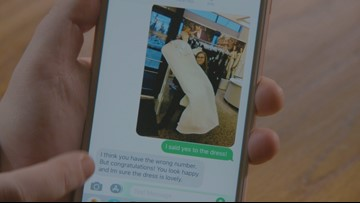 Strangers bless Bellingham bride with wedding donations after wrong-number text