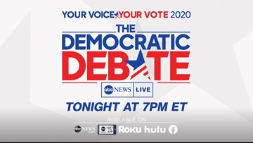 WATCH LIVE: Top 2020 Democratic candidates debate in Houston