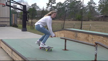 'It would be a life-changer' | 14-year-old Texas girl looks to skate into Olympics