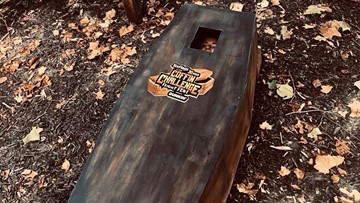 How you can enter the 'Fiesta Texas 30-Hour Coffin Challenge'