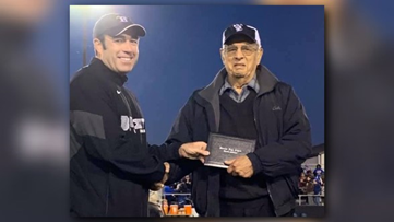 WWII Veteran awarded high school diploma 75 years after leaving school to join war