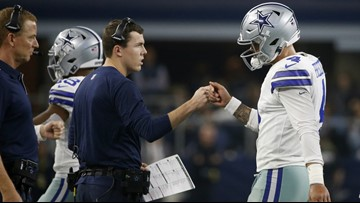 Report: Cowboys' Kellen Moore is now deciding between staying in Dallas or going to UW as OC