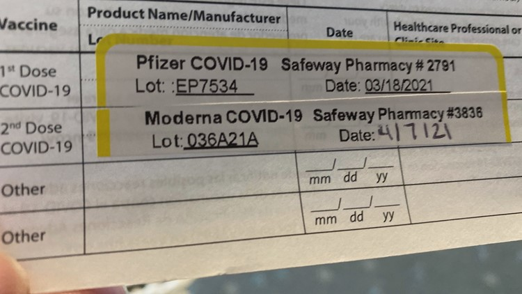Can you mix the Pfizer and Moderna COVID vaccines?