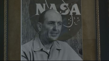 Apollo astronauts were role models for man after father's death